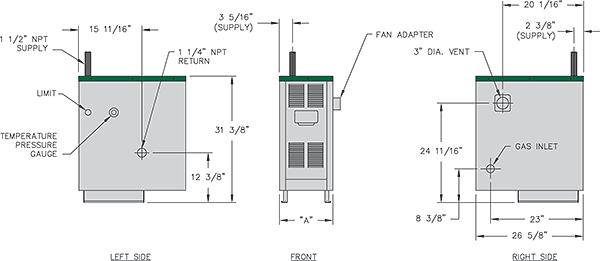 series de pb heat. Black Bedroom Furniture Sets. Home Design Ideas